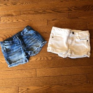 Other - Two pairs of toddler girl shorts.